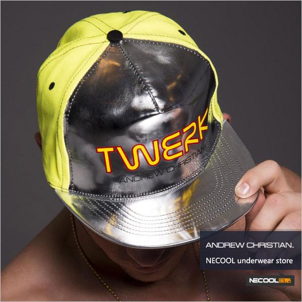 美国原装进口 AndrewChristian,时尚款男士帽子,4892,8183,男士内裤