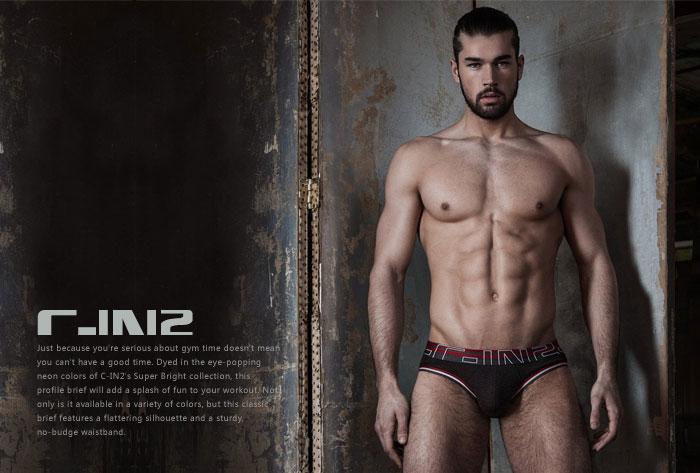 C-IN2,竹纤维男士三角内裤,6521,3213-FW16,男士内裤